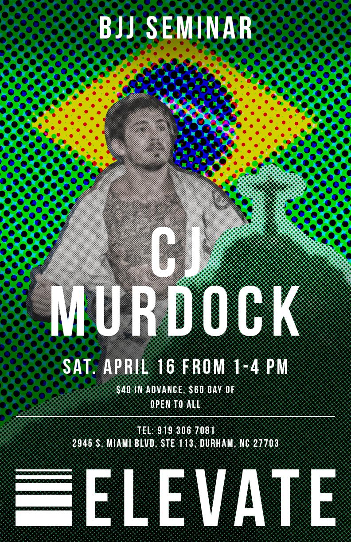 CJ Murdock BJJ Seminar