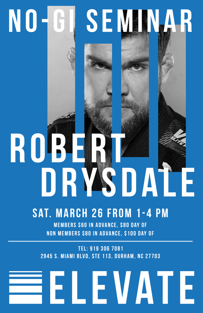 Robert Drysdale Seminar