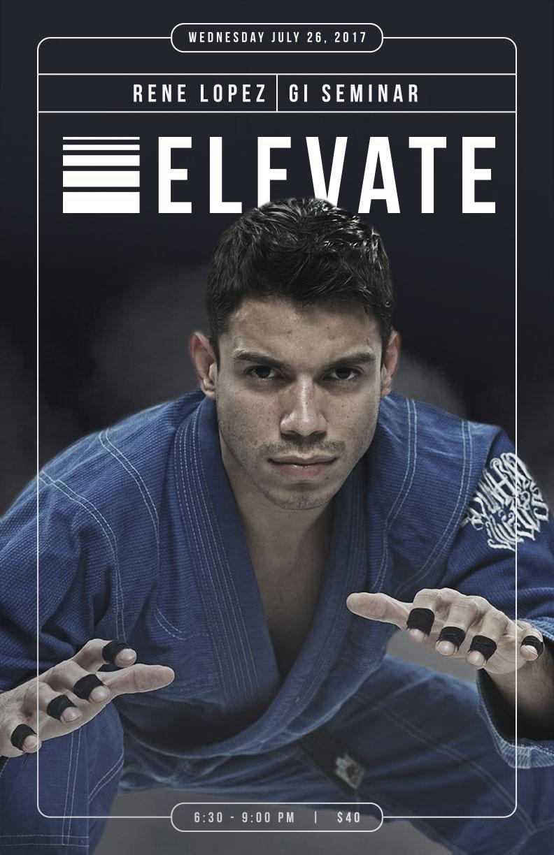Elevate MMA Academy Rene Lopez BJJ Seminar