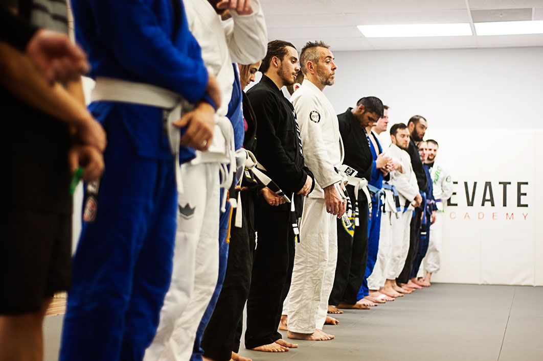 BJJ Class At Elevate MMA Academy